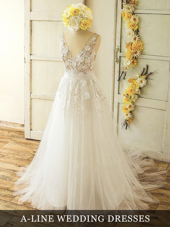 Aline Wedding Dresses Collection