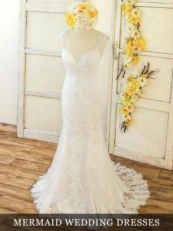 Mermaid Wedding Dresses Collection