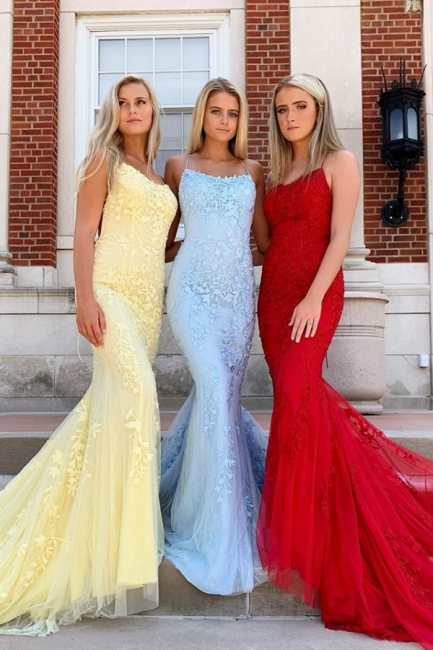 Sparkly Sleeveless Floor Length Criss-cross Straps Lace Prom Dresses | New Arrival Graduation Dresses
