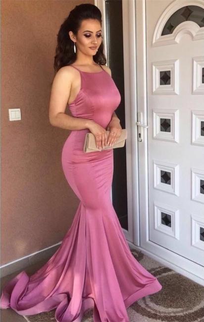 Gorgeous 2018 Prom Dresses Mermaid Spaghetti Straps Sexy Party Dresses