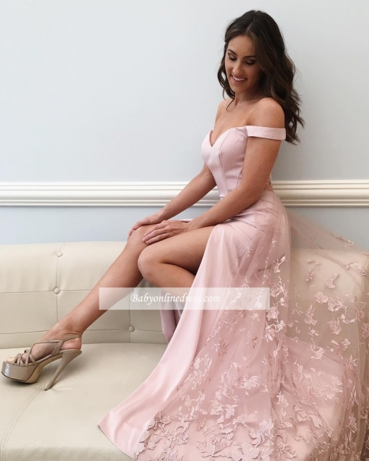 Off-the-Shoulder Prom Dresses | Sexy Long Evening Dresses