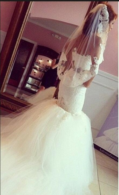 Timeless Sweetheart Lace Appliques Mermaid Wedding Dresses