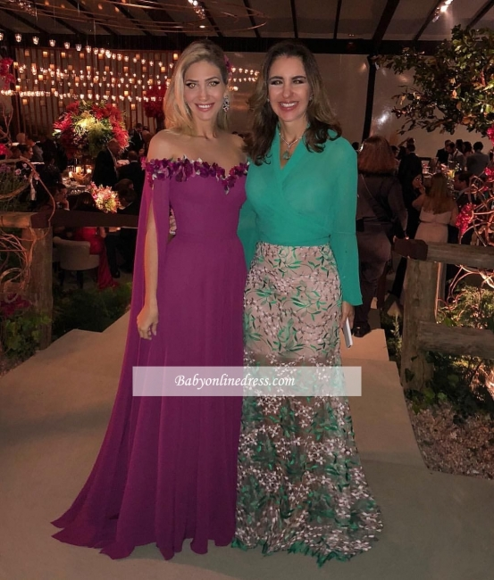 Gorgeous Sweetheart Long Ruffles Formal Chiffon Evening Gowns