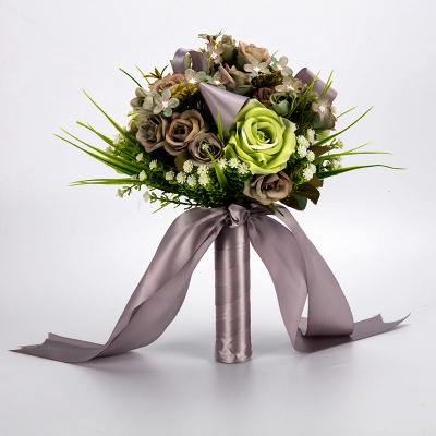 Multiple Artificial Flowers Bouquet for Wedding_5