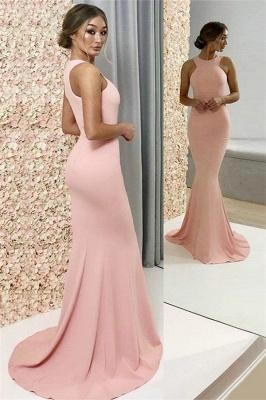 Chic Halter Sleeveless Prom Dresses Cheap Popular Mermaid Sexy Evening Dresses_1
