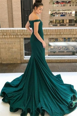 Chic One-shoulder Applique Prom Dresses Long Sleeves Side Slit Sexy Evening Dresses with Belt_4