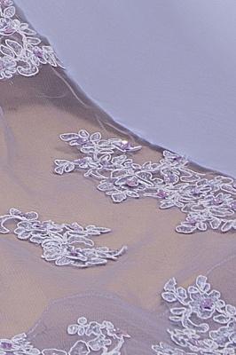 Spaghetti Straps Open Back Lace Mermaid Prom Dresses | Elegant Evening Dresses long_9