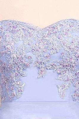 Spaghetti Straps Open Back Lace Mermaid Prom Dresses | Elegant Evening Dresses long_7