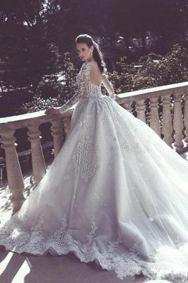 Vintage Long Lace Overskirts Mermaid Wedding Dresses_4