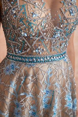 Elegant Jewel Sleeveless Appliques A-line Prom Dresses_8