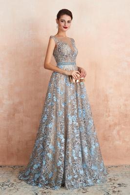 Elegant Jewel Sleeveless Appliques A-line Prom Dresses_6