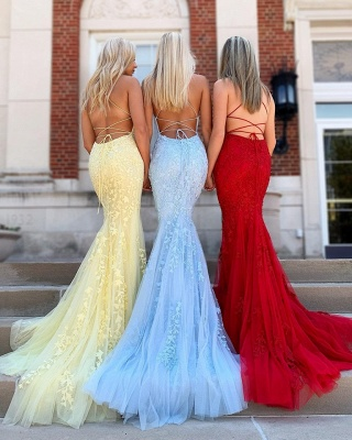 Sparkly Sleeveless Floor Length Criss-cross Straps Lace Prom Dresses | New Arrival Graduation Dresses_2