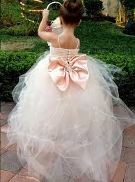Spaghetti Straps Sleeveless Sequins Sash Ball Gown Tulle Lovely Flower Girl Dresses_2