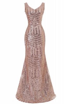 Newest Sleeveless Mermaid Jewel Long Sequin Prom Dress_3