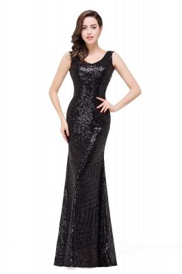 Newest Sleeveless Mermaid Jewel Long Sequin Prom Dress_4
