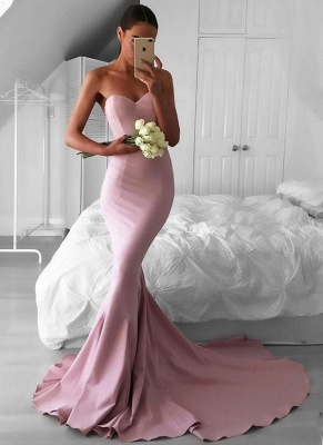 Cheap Mermaid Evening Dresses | Sweetheart Long Formal Dresses_1