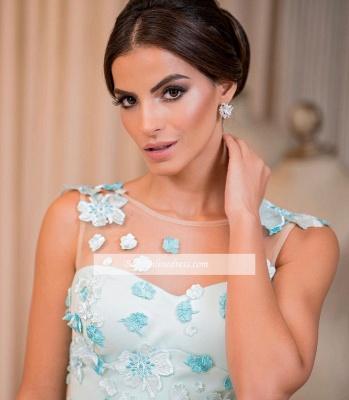 Glamorous Sleeveless Floor-Length Buttons A-line Prom Dress_3
