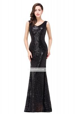 Newest Sleeveless Mermaid Jewel Long Sequin Prom Dress_6