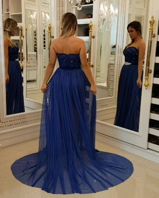 Luxury Sheath Lace Homecoming Dresses | Sweetheart Short Party Dresses Overskirt Bar0051_4