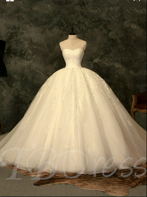 Special Link For A Lace Up Ball Gown Wedding Dresss_3