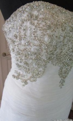 Mermaid Tulle Crystals Sweetheart Wedding Dresses | Timeless Bridal Gowns_4