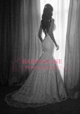 2018 Vintage Mermaid Wedding Dresses Vertigo Cap Sleeves Lace Appliques Crystal Beads Backless Bridal Gowns_5