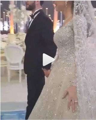 Crystal Ball Gown Wedding Dresses | Beaded Bridal Gowns with Sleeves_3