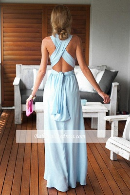 Long Floor-Length Beautiful Criss-Cross Sleeveless Prom Dress_3