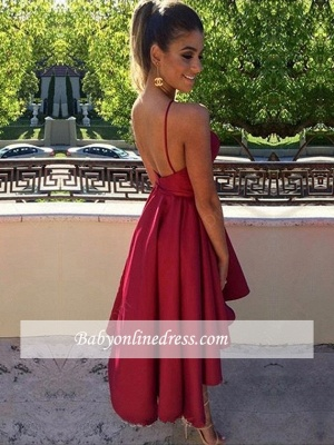 Sleeveless Keyhole Short Short Backless Modest homecoming Dress_1
